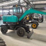 轮式挖掘机 多功能挖掘机 低油耗建筑工地用挖掘机