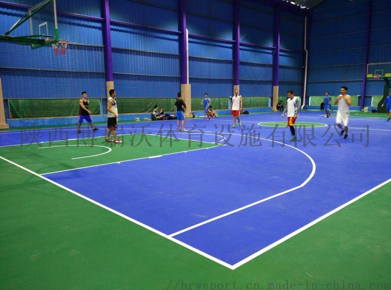 浙江台州pvc籃球場造價, PVC籃球場施工方案