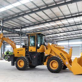 厂家装载挖掘机 全液压装载挖掘机 多功能两头忙