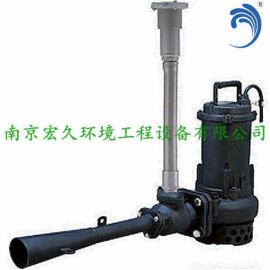 潜水射流曝气机QSB0.75移动式安装南京厂家