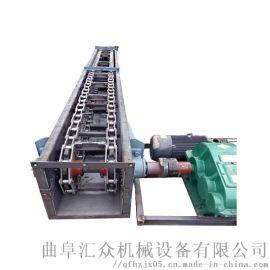 轻型刮板机 饲料刮板输送机 六九重工 爬坡式埋刮板