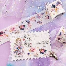 来图定制梦幻少女纤纤玉手手工DIY装饰和纸胶带