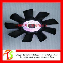 康明斯发电机组发动机配件 4BT柴油机铁风扇叶
