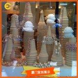 橱窗展示  玻璃钢冰淇淋道具  仿真制作