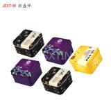 護膚品正方形鐵盒 化妝品馬口鐵制禮品小鐵盒