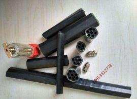 矿用单芯束管带护套与不带护套区别PE-ZKW