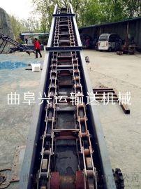 埋刮板机链条 反冲式刮板滚筒排屑机 LJXY 给煤