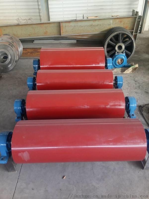 贵州DSJ型320改向滚筒 内装铣扁320改向滚筒