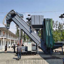 环保无扬尘集装箱粉煤灰卸车机搅拌站水泥粉料中转设备