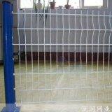 河南市政園林鐵絲護欄網三角折彎護欄