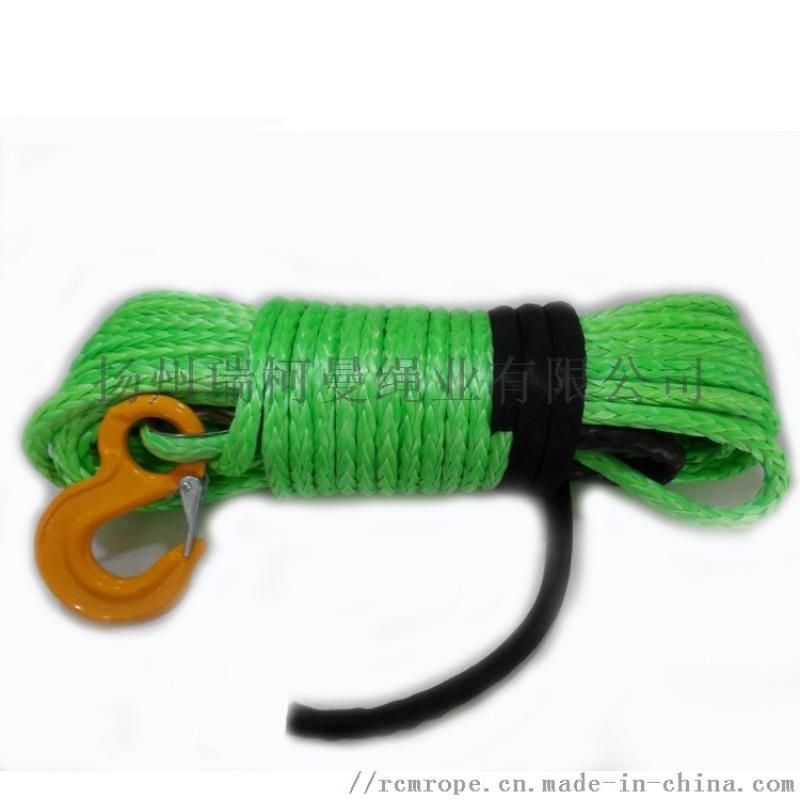 6mm-16mm超高分子聚乙烯絞盤繩
