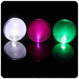 厂家定制LED发光滴胶胸章