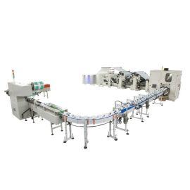 HX-SJD-1575彩胶厨房用纸/卫生纸生产线