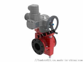 美国FAWKES福克斯进口电动管夹阀