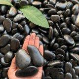 黑色鹅卵石 园林铺路公园造景装饰石子
