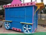 益禾堂特色奶茶店加盟售賣車设计定制-找時景家具
