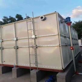 玻璃钢贮存水箱装配式地下室用水箱