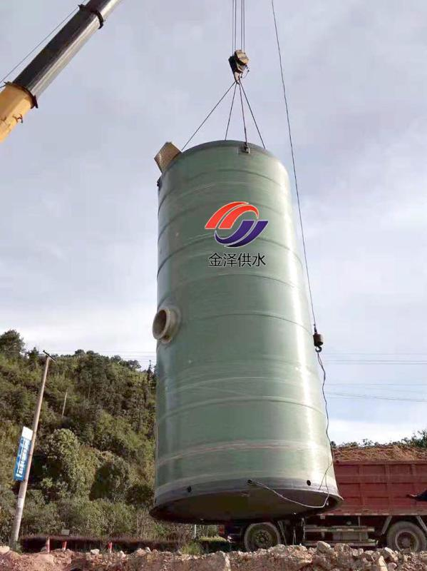 一體化污水提升泵站污水處理領域的福音