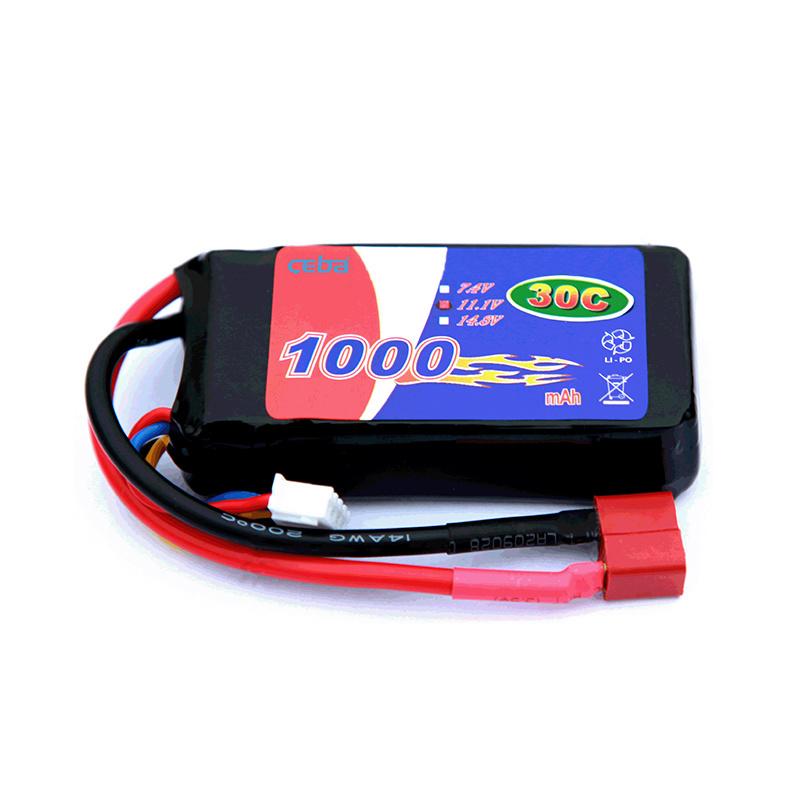 锂聚合物电池组无人机电池高分子电池1000mAh