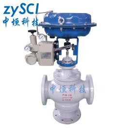 ZXQ气动薄膜三通合流高温调节阀