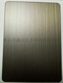 供应不锈钢钛金拉丝板