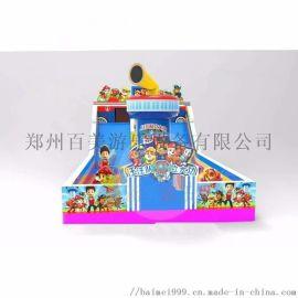 山西长治儿童大型充气城堡游乐设备