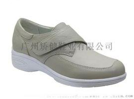 矫健真皮休闲鞋,广州女式皮鞋,力学功能外贸女鞋