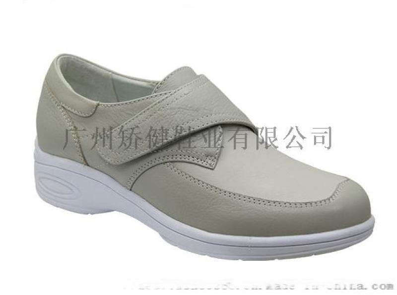 矯健真皮休閒鞋,廣州女式皮鞋,力學功能外貿女鞋