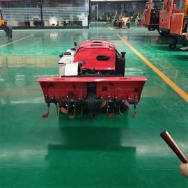 小型农用履带式田园管理机 35  履带式拖拉机