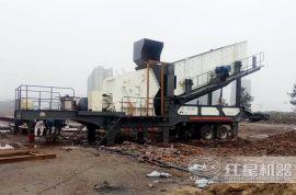 移动建筑垃圾粉碎机 建筑废料粉碎机 建筑垃圾破碎机