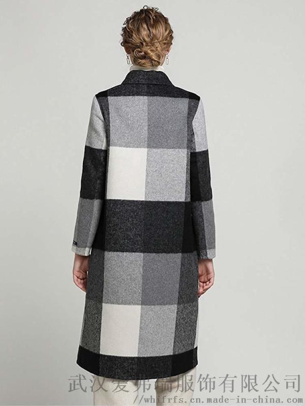 品牌服裝進貨折扣多少錢歐姿麗爾手工雙面羊絨呢大衣女