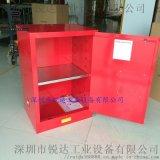 化學品儲存櫃危險品工業防火櫃12加侖黃色