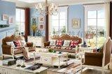 我家生活家居館現代美式真皮沙發組合客廳家具
