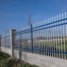 太原小区喷塑锌钢护栏 厂区三横梁锌钢护栏