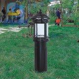 綠化帶室外草坪燈不鏽鋼別墅照明落地燈定制中式柱頭燈