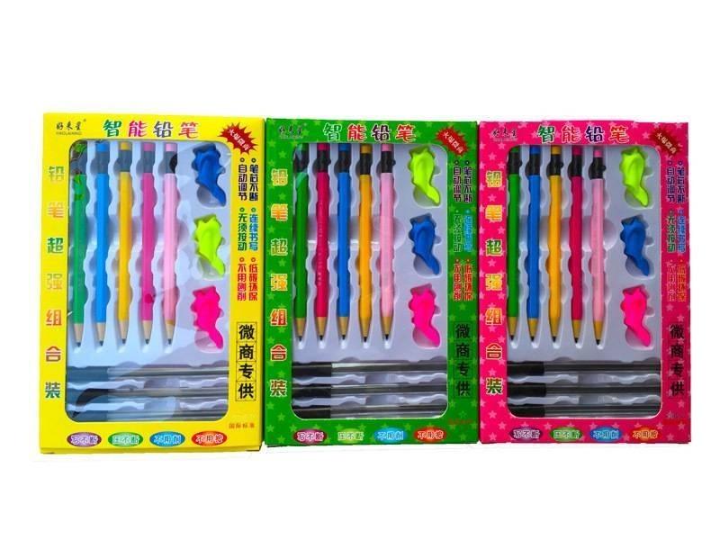 寫不斷免削免按鉛筆跑江湖趕集地攤新品10元兩盒模式多少錢