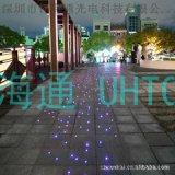 打點節日炫酷燈飾 閃爍照明發光線 呼吸閃耀發散線