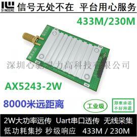AX5043无线模组 433M/230M数传模块
