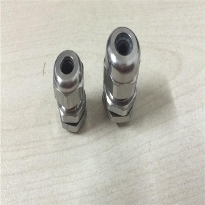 不锈钢铠装电缆固定头m32