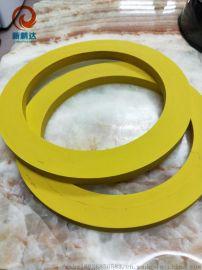 黄色硅胶皮 高弹性硅胶垫 高硬度硅胶板