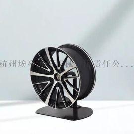 轮毂架车轮展架改装钢圈通用旋转架