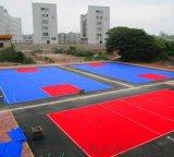悬浮拼装地板施工价格悬浮地板球场生产厂家