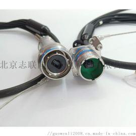 J599MPO系列预制光缆组件 4-24芯皆可制作,防水连接器 插头 插座