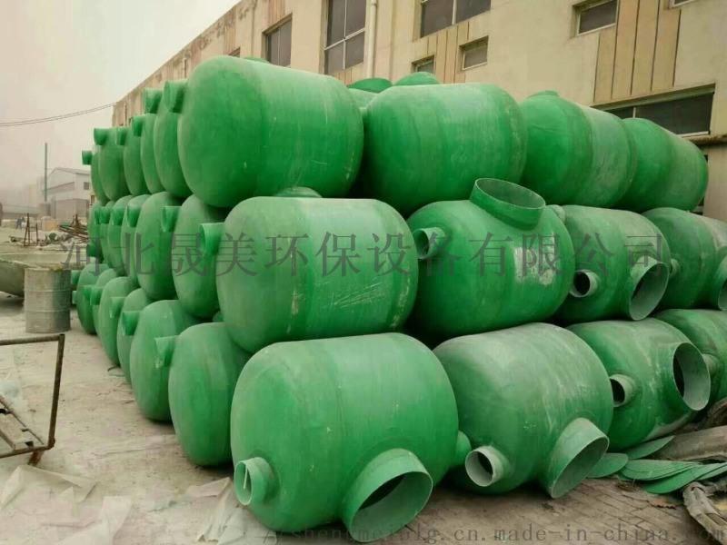 北京農村用玻璃鋼化糞池多少錢環保型材化糞池隔油池