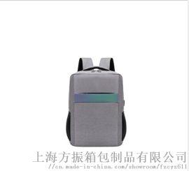 厂家定制商务电脑包防水牛津布双肩背包usb充电