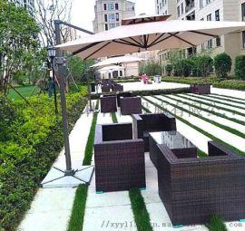 户外家具、户外长椅、休闲桌椅组合、公园椅