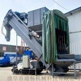 集装箱卸灰机 码头自行翻箱卸灰机 粉煤灰中转设备