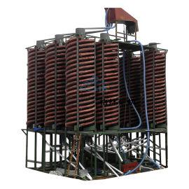 尾矿选矿设备螺旋溜槽 尾矿选铁螺旋溜槽