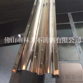 专业加工不锈钢包边线条酒店专用彩色不锈钢装饰线条