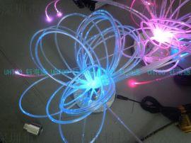 工程星空顶 亮浮标 光纤灯 导光线 发光瓶套
